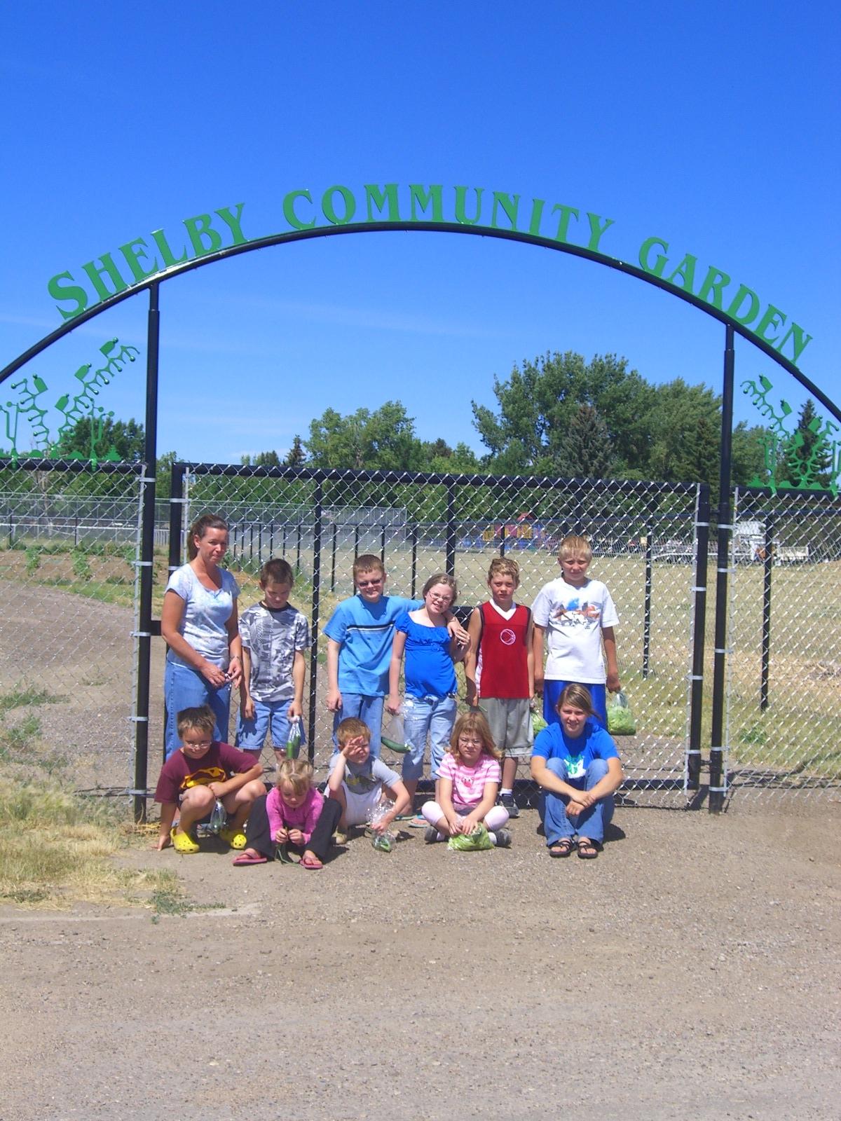 Shelby Community Garden