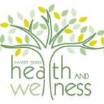 sweet grass health and wellness logo